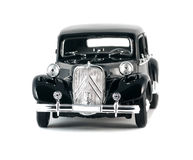 Black vintage retro car Royalty Free Stock Photos