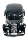 Black vintage retro car Royalty Free Stock Photos