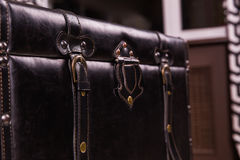Free Black Vintage Suitcase Leather Texture Stock Photo - 88777310