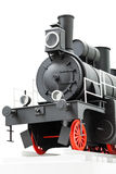 Black vintage toy train Royalty Free Stock Image