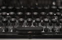 Black Vintage Typewriter Royalty Free Stock Images