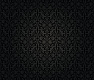 Black vintage wallpaper background Royalty Free Stock Images