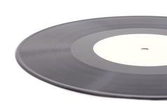 Black vinyl plate. Royalty Free Stock Image