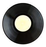 Black vinyl record Royalty Free Stock Photos