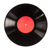 Black vinyl record Royalty Free Stock Photo