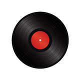 Black vinyl  Stock Photos