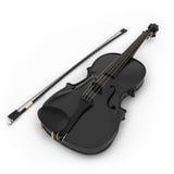 Black violin Stock Photo