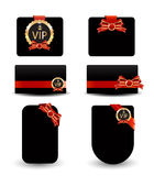 Black vip card Royalty Free Stock Photography