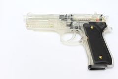 Black Viper Gun. Black Viper M92 air spring pistol gun Stock Photos