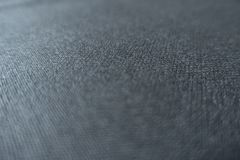 Black viscose fabric. Soft focus, close view Stock Photo