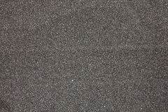 Black volcanic sand Stock Images