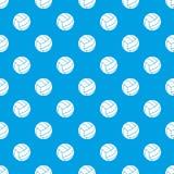 Black volleyball ball pattern seamless blue Stock Photos