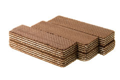 Black wafers Stock Photography