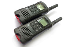 Black walkie talkie Stock Photo