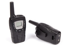 Black Walkie Talkies Royalty Free Stock Photography