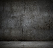 Black wall background Royalty Free Stock Image