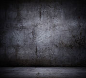 Black wall background Royalty Free Stock Images