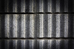 Black wall cement texture Stock Photography