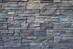Black wall stone background. Texture Royalty Free Stock Photography