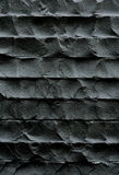 Black wall,stone texture Royalty Free Stock Photo