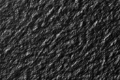 Black wall, stone texture closeup Stock Photography