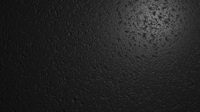 Black wall texture. Digital illustration with place for text. 3d render. Graphic texture of  black wall Royalty Free Stock Photo