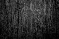 Black wall wood Stock Images