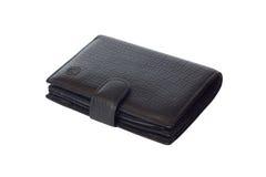 Black wallet Stock Photo