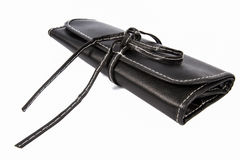 Black wallet. Stock Images