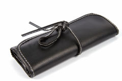 Black wallet. Stock Photography