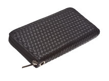 Black wallet Stock Image