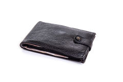 Black Wallet Royalty Free Stock Photo