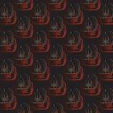 Black wallpaper pattern Royalty Free Stock Images