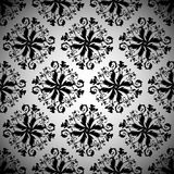 Black wallpaper repeat Royalty Free Stock Photography
