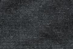 Black washed carpet texture, linen canvas white texture background Royalty Free Stock Image