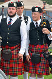 Black Watch Pipes and Drums Royalty Free Stock Images