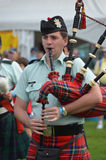 Black Watch Pipes and Drums Royalty Free Stock Photography