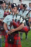 Black Watch Pipes and Drums Stock Photos
