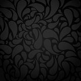 Black water shape abstract background Stock Photos