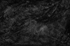 Black watercolor paint abstract texture scanned background.  royalty free stock images