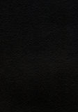 Black watercolor paper texture Stock Photography