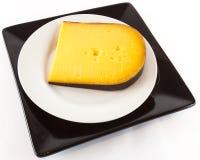 Black wax cheese Stock Photos