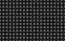 Black weave abstract background, black interlaced grid. With shadows Stock Photography