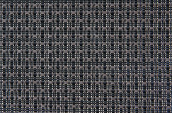 Black weave pattern. This is an sbstract picture of black weave pattern in detail.  Taken close up Stock Images