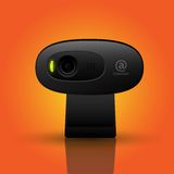 Black webcam Stock Photos