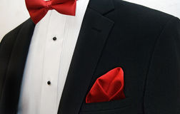 Black wedding tuxedo Stock Photography