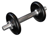 Black weights Royalty Free Stock Photo