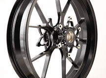 Black wheel Royalty Free Stock Photography