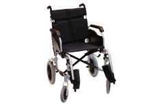 Black Wheelchair. Royalty Free Stock Photography