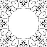 Black&White框架 免版税库存图片